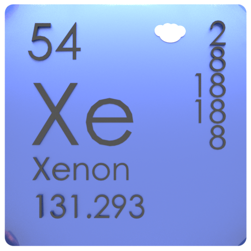 Xenon-periodic-table
